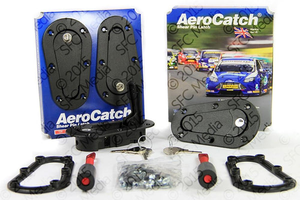 Aerocatch Hood Pins Plus Flush Locking Kit (120-2100)