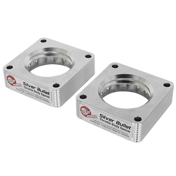 aFe Silver Bullet Throttle Body Spacers | Multiple Nissan/Infiniti Fitments (46-36007)