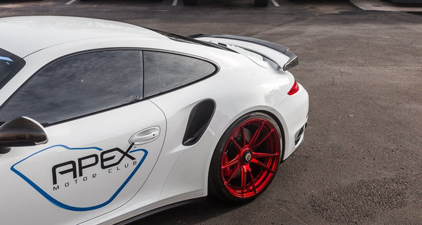 Agency Power Aeroform Carbon Wing Lip | 2013-2015 Porsche 991 Turbo/Turbo S (AP-991TT-610)