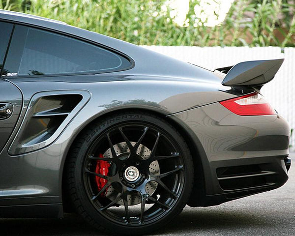 Carbon Fiber GT2 Style Add-on Rear Wing Porsche 997 TT 07-12 by Agency Power - Modern Automotive Performance