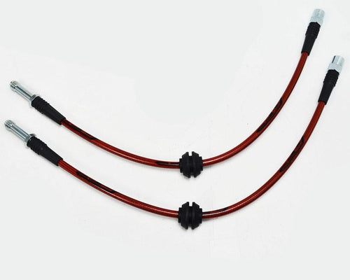 Rear Steel Braided Brake Lines BMW E46 M3 01-05 by Agency Power