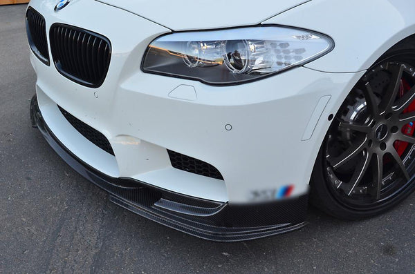 Carbon Fiber Front Lip Spoiler BMW M5 F10 12-13  by Agency Power - Modern Automotive Performance