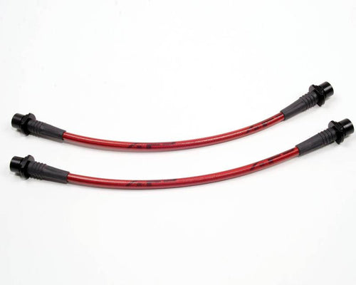 Rear Steel Braided  Brake Lines Scion xB/xA 04-06  by Agency Power