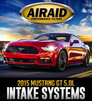 2015 Ford Mustang GT Dry Cold-Air Intake System by Airaid (451-328) - Modern Automotive Performance  - 1