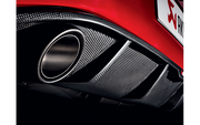 Akrapovic Matte Carbon Fiber Rear Diffuser | 2015-2017 VW Golf GTI Mk7 (DI-VW/CA/1)