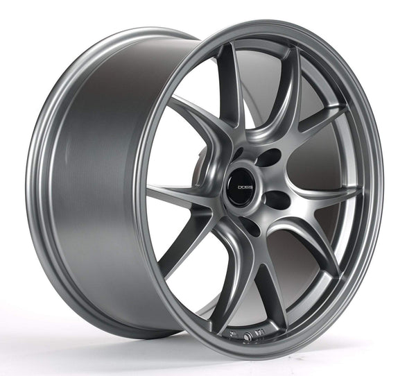 "Ambit FF3 5x114.3 18x9.5"" +35mm Offset Matte Gunmetal Wheels"