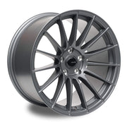 "Ambit RE02 5x100 17x9.0"" +35mm Offset Matte Gunmetal Wheels"