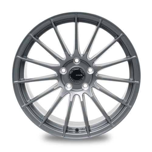 "Ambit RE02 5x114.3 17x9.0"" +35mm Offset Matte Gunmetal Wheels"