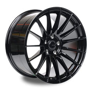 "Ambit RE02 5x114.3 18x9.5"" +38mm Offset Gloss Black Wheels"