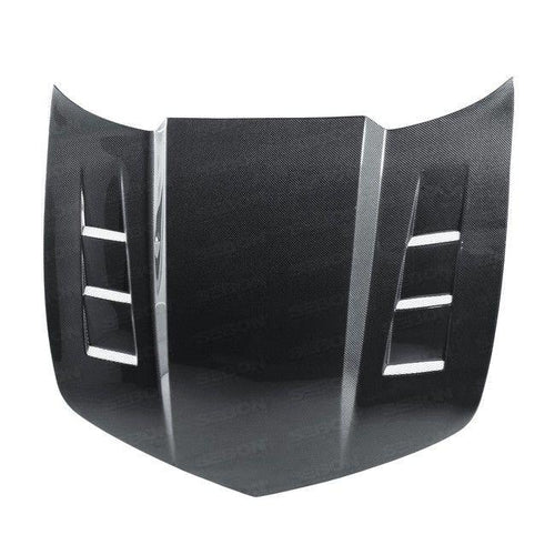 Seibon TS-style Carbon Fiber Hood ( 2010-2011 Camaro) HD1011CHCAM-TS - Modern Automotive Performance