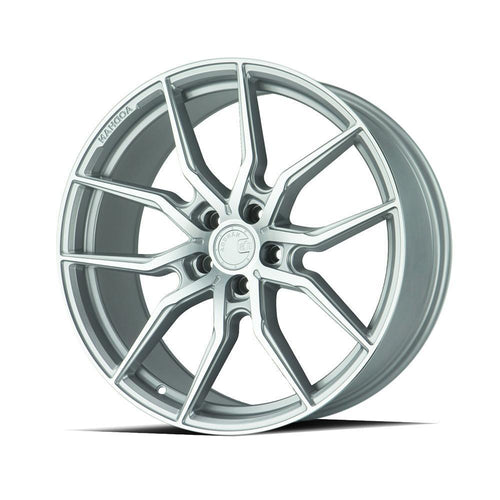 "AodHan AFF1 Wheels - 5x120 20"" - Gloss Silver Machined Face"