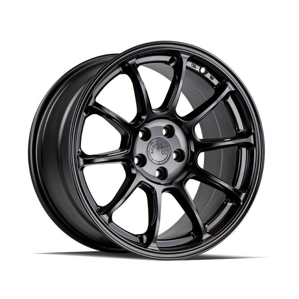 "AodHan AH06 Wheels - 5X100 18x9.0"" +30mm Offset - Matte Black"