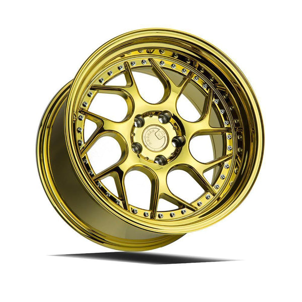 "AodHan DS01 Wheels - 5x120 18"" - Gold Vacuum"