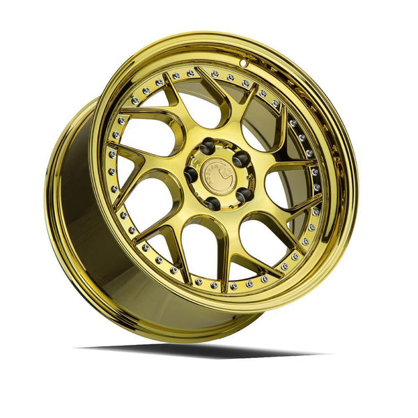 "AodHan DS01 Wheels - 5x112 18"" - Gold Vacuum"