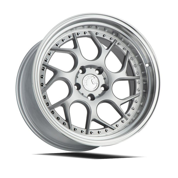 "AodHan DS01 Wheels - 5x114.3 18"" - Silver Machined Lip"