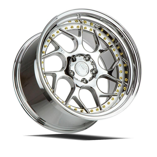 "AodHan DS01 Wheels - 5x114.3 19"" - Vacuum Chrome"