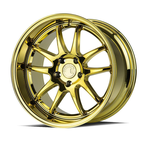 "AodHan DS02 Wheels - 5x114.3 18"" - Gold Vacuum"