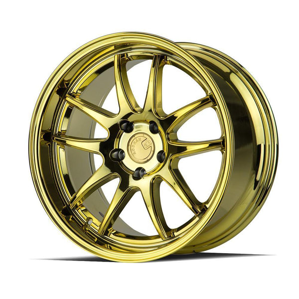 "AodHan DS02 Wheels - 5X100 18x9.5"" +35mm Offset - Gold Vacuum"