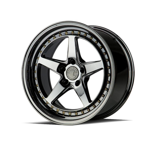 "AodHan DS05 Wheels - 5x114.3 19"" - Black Vacuum"