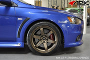 ARK GT-F Lowering Springs | 2008-2011 Mitsubishi Evolution X (LF1800-0600)