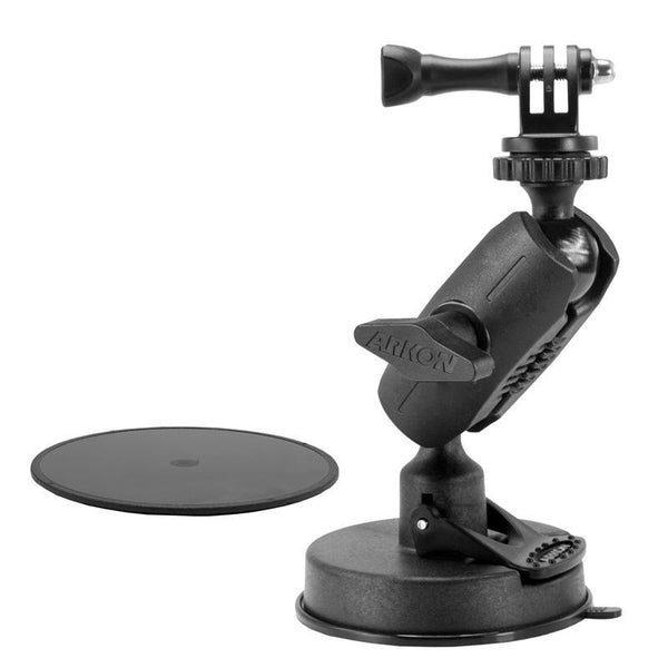 Arkon Heavy-Duty Sticky Suction Mount for GoPro HERO Cameras (GPRMS079)