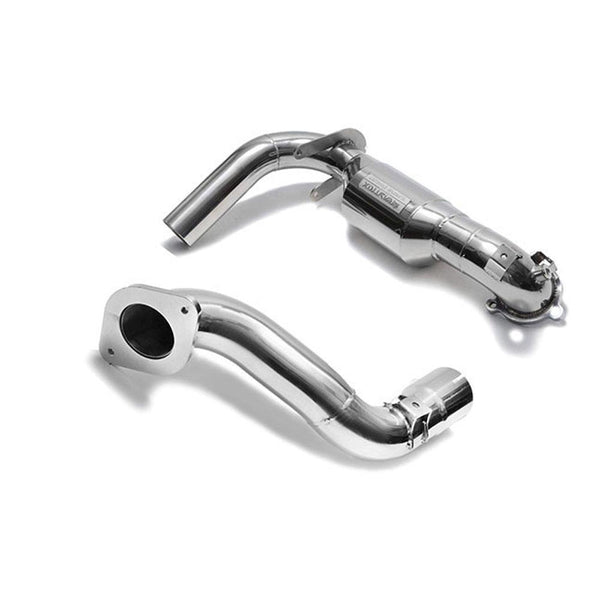 Armytrix Sport Cat Pipe w/200 CPSI Catalytic Converters | 2019+ Mercedes-Benz A250 (MB172-CD)