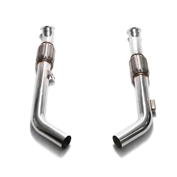 Armytrix Stainless Steel Valvetronic Catback Exhaust System for OEM Diffuser | 2015-2021 Mercedes-Benz C400 / C450 / C43 AMG W205 (MBC45-C)