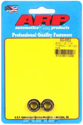 ARP 8740 Chrome-Moly M9x1.25 11mm 12pt Nut Kit (300-8342)