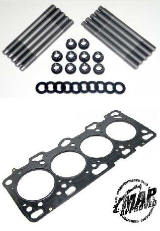 Mitsubishi Evo 8 / 9 MAP Ultimate Duty H11 Head Studs with JE Pro Seal MLS Head Gasket 86.30mm/1.00mm - Modern Automotive Performance  - 1