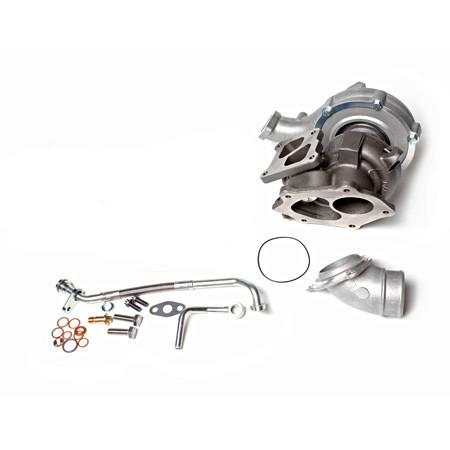 ATP Dual Ball Bearing Twin-scroll Bolt-on Turbo Kit - Internally wastegated | 2007-2015 Mitsubishi Evo X (ATP-VEVO-021) - Modern Automotive Performance