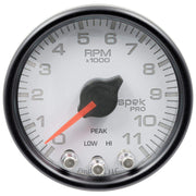 "Autometer Spek-Pro 2 & 1/16"" Tachometer w/ Shift Light 11K RPM"
