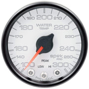 "Autometer Spek-Pro 2 & 1/16"" Water Temp Gauge 100-300F"