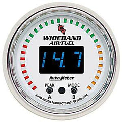 Autometer 52mm Wideband Air/Fuel Ratio PRO Wideband A/F Kit 7178