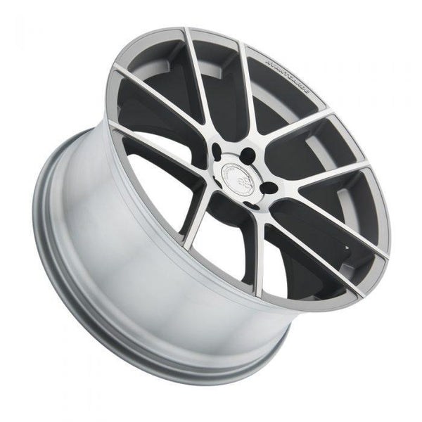 "Avant Garde M510 Series 5x120 21x10.0"" +38mm Offset Satin Silver Wheels"