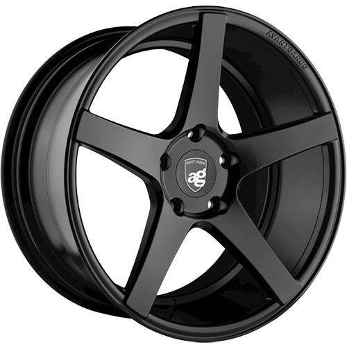 "Avant Garde M550 Series 5x130 19x11.0"" +40mm Offset Matte Black Wheels"