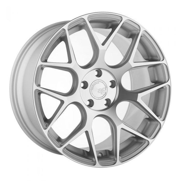 "Avant Garde M590 Series 5x114.3 20x10.0"" +43mm Offset Satin Silver Wheels"