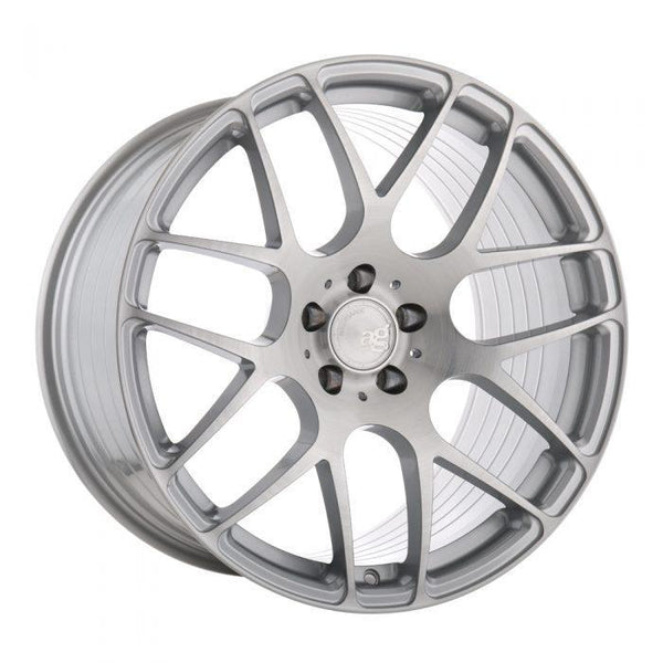 "Avant Garde M610 Series 5x112 19x8.5"" +35mm Offset Liquid Silver Wheels"