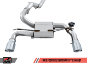 AWE SwitchPath Cat-Back Exhaust | 2016-2017 Ford Focus RS
