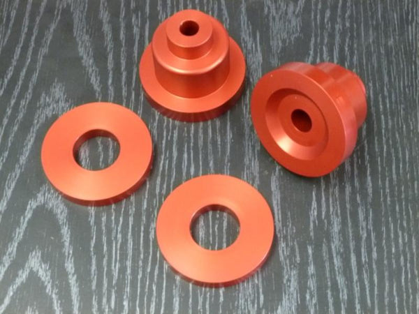 Battle Version Solid Differential Bushings Front | 1993-1998 Toyota Supra MKIV (BV-TOY-SUP-MK4-FDIFF-BUSH)