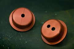 Battle Version Solid Differential Bushings Rear | 1993-1998 Toyota Supra MKIV (BV-TOY-SUP-MK4-RDIFF-BUSH)