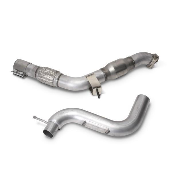 "BBK 3"" Catted Downpipe 