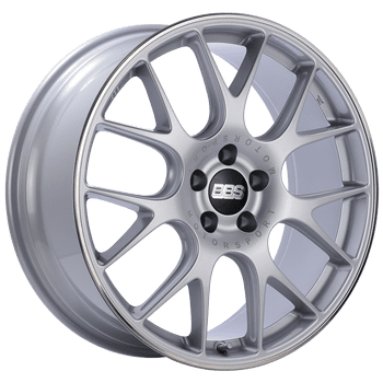 "BBS CH-R Series 5x112 19"" Silver Wheels"