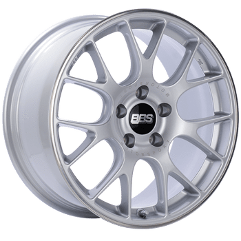 "BBS CH-R Series 5x120 18"" Silver Wheels"