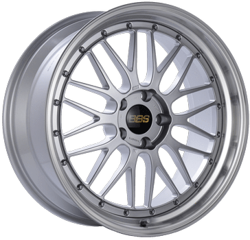 "BBS LM Series 5x114.3 19"" Diamond Silver Wheels"