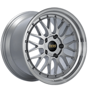 "BBS LM Series 5x112 18"" Diamond Silver Wheels"