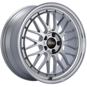"BBS LM Series 5x112 19"" Diamond Silver Wheels"