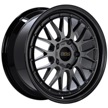 "BBS LM Series 5x130 18"" Dark Black Wheels"