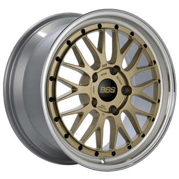 "BBS LM Series 5x130 18"" Gold Wheels"