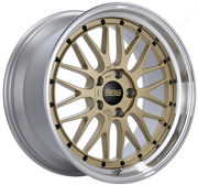 "BBS LM Series 5x120 19"" Gold Wheels"