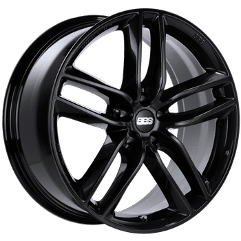 "BBS SX Series 5x120 20x9.0"" +42mm Offset Crystal Black Wheels"